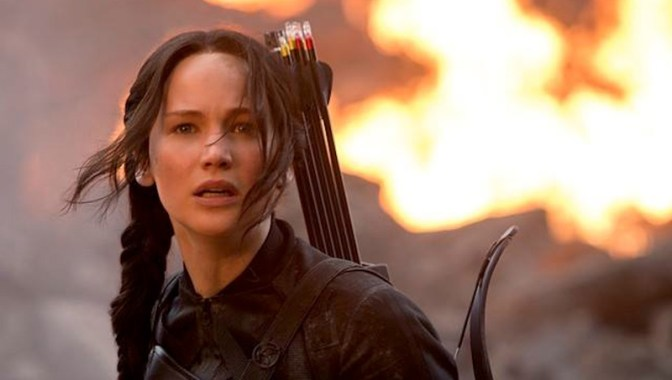 Image: Jennifer Lawrence as Katniss Everdeen in The Hunger Games